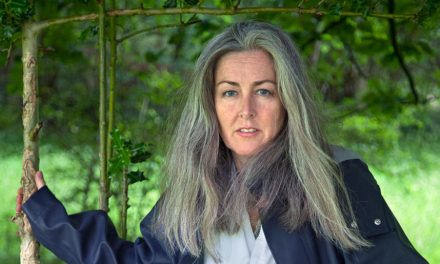 Polly Higgins, a lawyer for earth