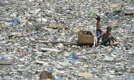 Halte aux déchets plastiques au paradis!